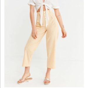 UO MARIA BUTTON FLY TROUSERS